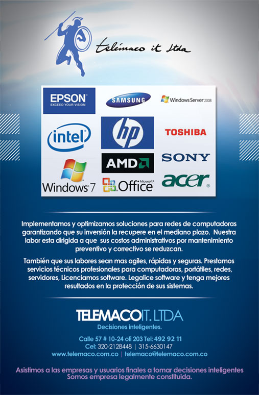 banner telemaco